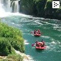 Bosnia and Herzegovina has good rivers for rafting