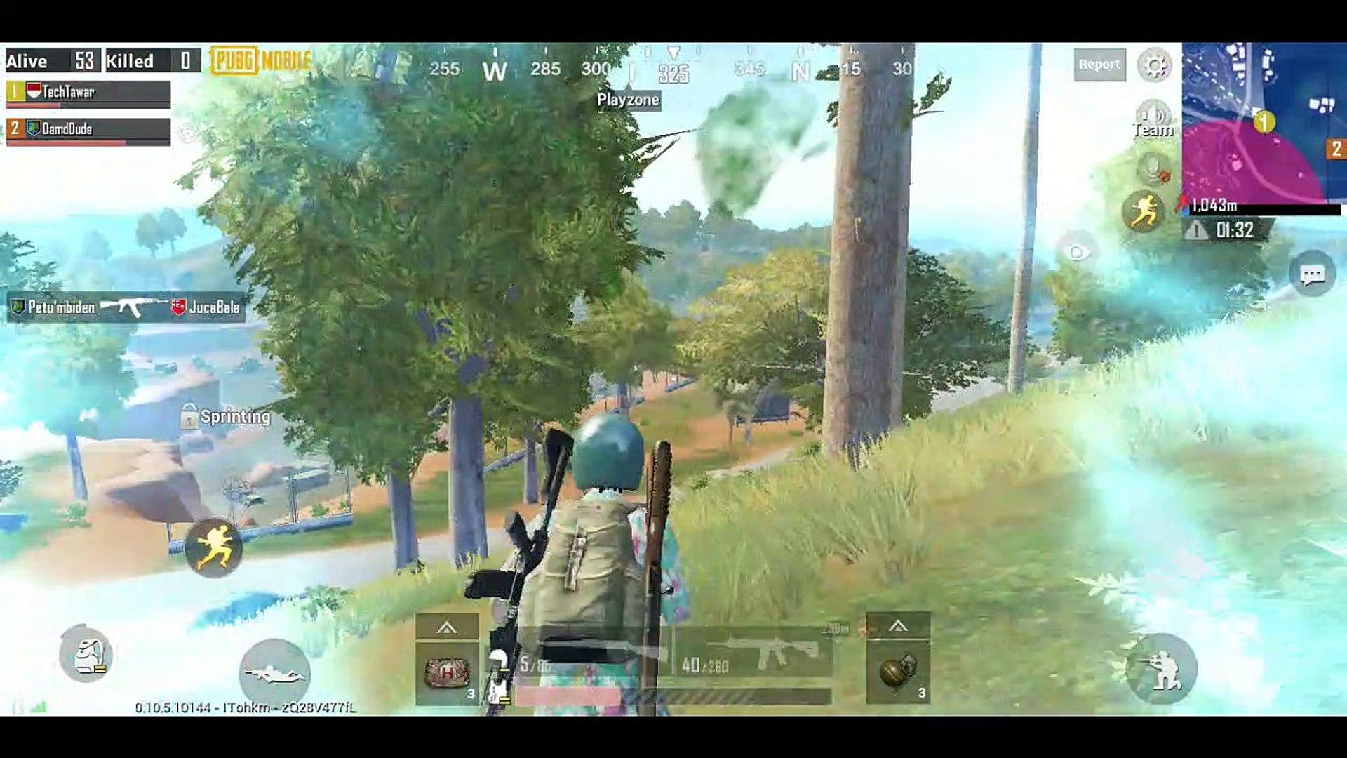 Duo Trout Dut Reverse Sanhok Map PUBG Mobile
