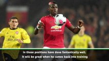 Pogba's December return good for competition