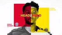 Bundesliga: Serge Gnabry vs. Jadon Sancho, Head 2 Head