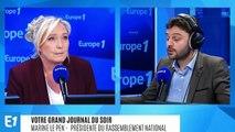 """Marine Le Pen sur le procès des campagnes du FN : """"Il n'y a rien de répréhensible"""""""