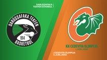 Darussafaka Tekfen Istanbul - Cedevita Olimpija Ljubljana Highlights | 7DAYS EuroCup, RS Round 6