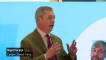 Nigel Farage mocks Conservatives' 'Workington Man'