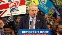 Boris Johnson opens speech with Brexit-anaconda analogy