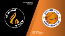Promitheas Patras - Maccabi Rishon Lezion Highlights | 7DAYS EuroCup, RS Round 6
