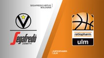 Segafredo Virtus Bologna - ratiopharm Ulm Highlights | 7DAYS EuroCup, RS Round 6