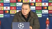 Real Madrid - Galatasaray maçının ardından - Fatih Terim - İSTANBUL