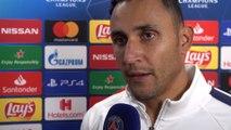 Post game interviews: Paris Saint-Germain-Club Brugge
