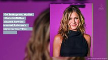 "Jennifer Aniston showed off her natural waves, and this should be the new ""The Rachel"""
