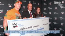 John Cena Has Granted Over 600 Make a Wish Foundation Wishes—More Than Any Celebrity in History