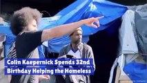 Colin Kaepernick Does Good