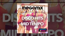 E4F - Megamix Fitness Disco Hits For Mid Tempo - Fitness & Music 2018