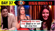 Shehnaz Gill CRIES For Siddharth Shukla As He Ignores Her For Himanshi | Bigg Boss 13 Episode Update