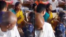 #WatchVideo ! Ranu Mondal Pushes Fan Who Requested Her For Selfie !