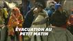 À Paris, des camps de migrants près de Porte de la Chapelle évacués