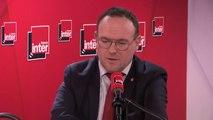 """Damien Abad (LR)  sur la réforme des retraites : """"La clause du grand-père est la clause du grand immobilisme. Ça veut dire que jusqu'en 2062 il ne va rien se passer. Je pense qu'Emmanuel Macron n'ira pas au bout de la réforme"""""""