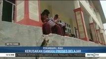 Baru Dua Tahun Dibangun, SMP Negeri 43 Pekanbaru Sudah Rusak