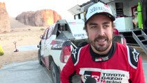 Toyota Gazoo Racing 2020 Dakar Test - Interview Fernando Alonso