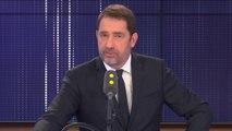 """Le débat sur le voile est """"caricatural"""", """"ce qui me préoccupe"""", c'est """"l'islamisme rampant dans les quartiers"""", assure Christophe Castaner"""