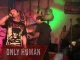 ONLY HUMAN live flashrock PUNK ROCK METAL music video
