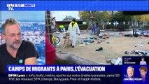 Camps de migrants à Paris, l'évacuation (2) - 07/11