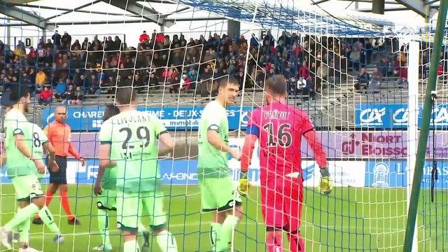 Le résumé de Chamois Niortais-FCSM (0-2)