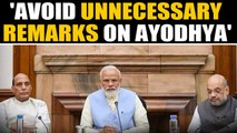 PM cautions cabinet ahead of Ayodhya verdict | Oneindia News