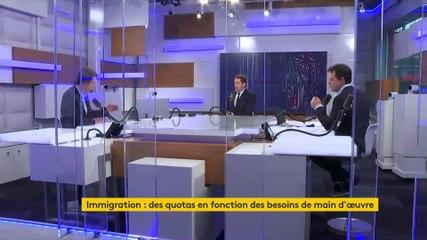 Christophe Castaner - Franceinfo jeudi 7 novembre 2019