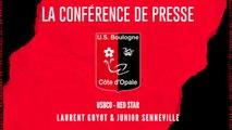 [NATIONAL] J13 Conférence de presse avant match USBCO - Red Star