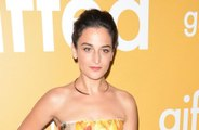 Jenny Slate had an entire sausage in her mouth when her fiance proposed