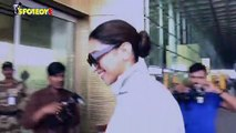 Spotted: Deepika Padukone at the airport