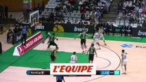 Le dunk de la journée pour Youssou Ndoye - Basket - Eurocoupe (H)