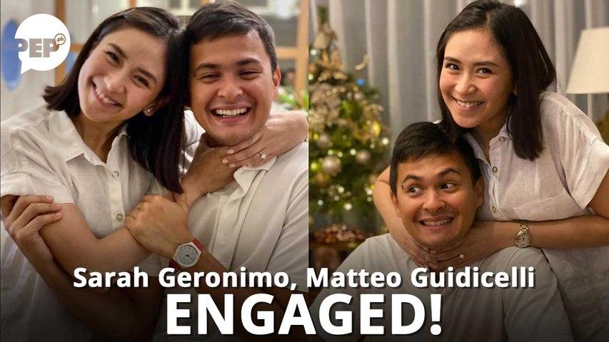 Sarah Geronimo, Matteo Guidicelli, engaged na! | PEP Hot Story