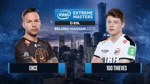CSGO - 100 Thieves vs. ENCE [Inferno] Map 1 - Group A - IEM Beijing-Haidian 2019