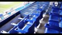 Les loges (espace VIP du Stade Bonal)