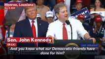 GOP Sen. John Kennedy Insults Pelosi During Trump Rally: 'It Must Suck To Be That Dumb'