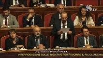 Arrigoni - La tassa sulla #plastica serve a questo Governo solo per fare cassa (07.11.19)
