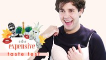 David Dobrik Does the Grossest Thing With Gum | Expensive Taste Test | Cosmopolitan