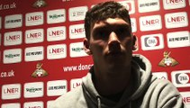 Joe Wright on Doncaster Rovers playing out from the back