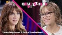 Zooey Deschanel Quizzes Grace VanderWaal on 'New Girl' Trivia | Quizzed