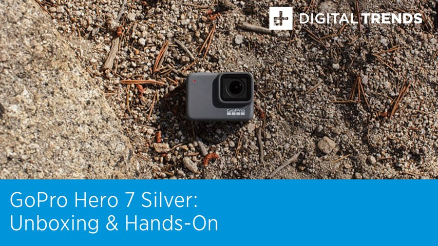 GoPro Hero 7 Silver Unboxing and Hands-On