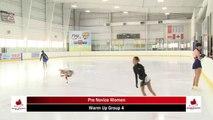 2020 Skate Ontario Sectionals - Pre-Novice Women - Short Program (Skaters 16 - 30)