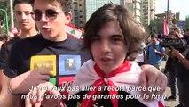 Liban: des milliers d'écoliers et d'étudiants mobilisés
