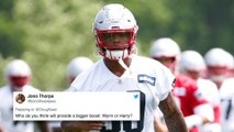 Patriots Mailbag: Who Will Be A Bigger Boost, Isaiah Wynn Or N'Keal Harry?