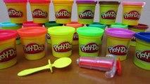 Play-Doh Rainbow Tie-Dye Lollipop-