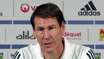 Football - Ligue 1 - Rudi Garcia en conférence de presse avant OM-OL