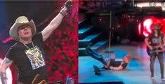 Axl Rose Nasty Fall : Guns N' Roses Concert in Las Vegas 2020