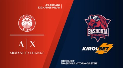 EuroLeague 2019-20 Highlights Regular Season Round 7 video: Milan 81-74 Baskonia