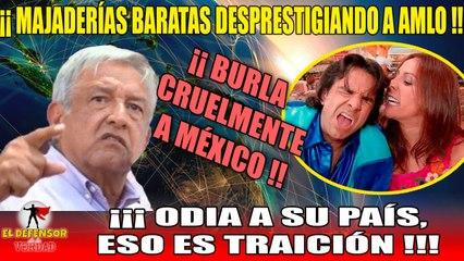 El Colmo!! Derbez Revive La Familia Peluche Para Vengarse De AMLO y Burlarse:TV Basura Hace De Las Suyas