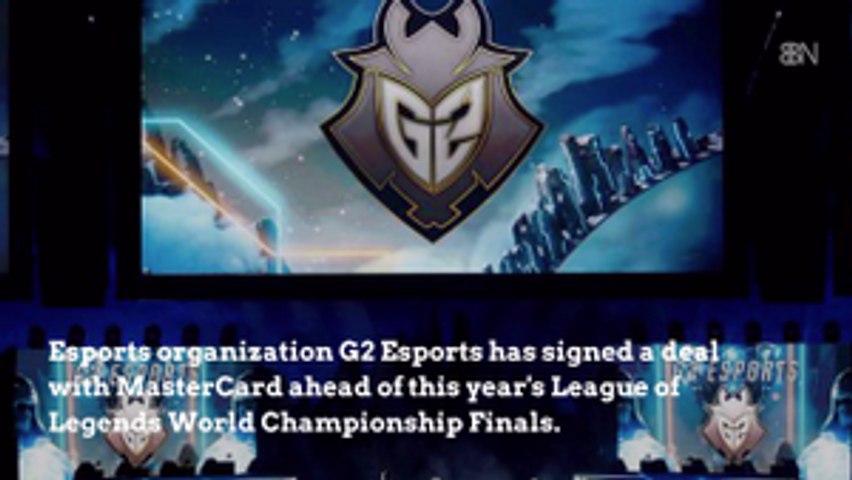 G2 Esports Announces Mastercard Deal